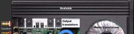 Amp output
