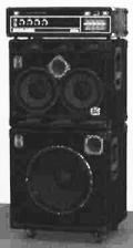 Bass amp stack